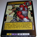 G.I.Joe Trading card Game 2004 102/114 No 102 Slice (rare) @sold@